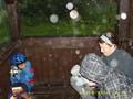 Při zpáteční cestě nás zastihl menší déšť